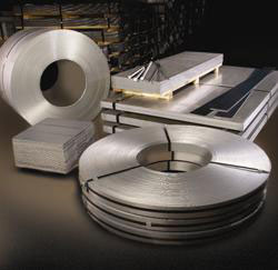 steel sheets, steel coils, shipping, shearing